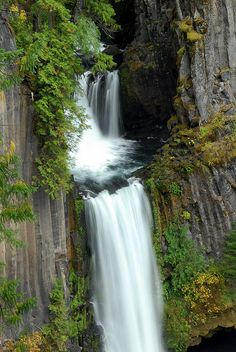 Tokatee Falls, Oregon