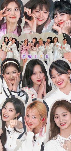 Kpop Girl Groups, Korean Girl Groups, Kpop Girls, Sea Wallpaper, Mobile Legend Wallpaper, Kpop Wallpapers, Pretty Wallpapers, Twice Group, Twice Fanart