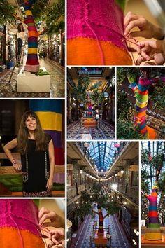 The craft movement: knitting as street art