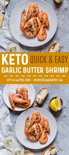 These easygarlicbuttershrimps are made with just 7 ingredients, full of flavour and sure to become a firm favourite.In fact, this delicious Garlic Butter Prawns is ready in only 12 mins. Keto and gluten-free. recipesfromapantry.com #prawns #shrimps #garlicbuttershrimps #garlicbutterprawns #grilledshrimps #grilledprawns #keto via @recipespantry