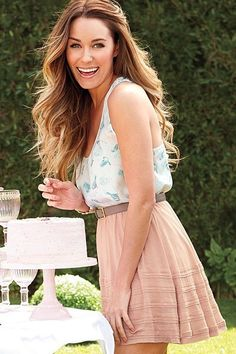 Lauren Conrad does sunny LA style like no other.