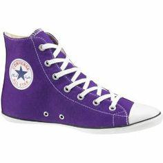 Converse Chuck Taylor All Star Hi Top Purple . Purple Converse, Purple Shoes, Converse Sneakers, Converse Chuck Taylor All Star, Converse All Star, High Top Sneakers, Purple Love, All Things Purple, Purple