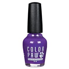 Top Performance Color Paw Nail Polish for Dogs, Poppin' Purple >>> Want additional info? Click on the image.