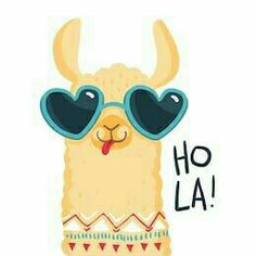 Print for fabric, t-shirt, poster, wallpaper, wrapping pape. Alpacas, No Drama Lama, Llama Pictures, Cute Llama, Funny Llama, Llama Birthday, Cute Illustration, Cute Wallpapers, Illustrations