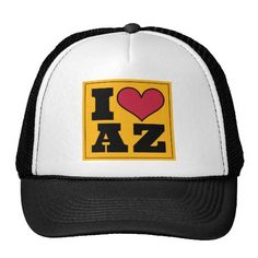 Arizona (Yellow/Black) Trucker Hat