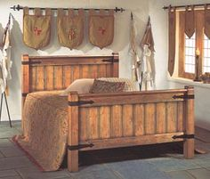 viking bed woodworking pinterest wikinger. Black Bedroom Furniture Sets. Home Design Ideas