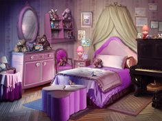 Scenery Background, Fantasy Background, Royal Bedroom, Anime Places, Episode Backgrounds, Fantasy Places, Anime Drawings Sketches, Toy Rooms, Environment Concept