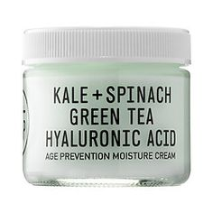 Shop Youth To The People's Kale + Spinach + Hyaluronic Acid Age Prevention Cream at Sephora.