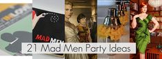 21 Mad Men Vintage Inspired Party Ideas