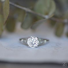For a big, bright love.  A.Jaffe Engagement Rings, Wedding Bands and Fine Jewelry  http://www.siebkehoyt.com/designers/a-jaffe.html