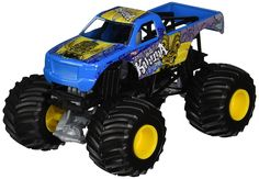 Amazon.com: Hot Wheels Monster Jam 1:24 Scale Big Kahuna Vehicle: Toys & Games