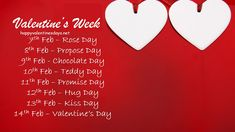 7 feb to 21 feb days list : Valentines Week List 2020 : Hello dear! Love and greetings to you. February Days List, List Of Days, February Month, List Of Valentine Week, Happy Valentines Day Photos, Date, February Special Days, Valantine Day, Teddy Day