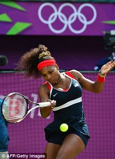 Serena Williams - Gold Medal Women's Singles Tennis