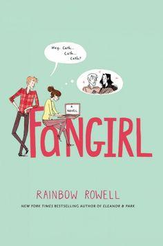 Fangirl by Rainbow Rowell (2013) http://alpha2.suffolk.lib.ny.us/record=b4638456~S35