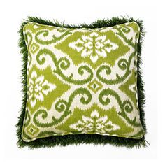Square Pillow 13x13 Kiwi, $49,  by Firmly Planted !!