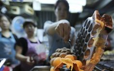 Deserved praise for the humble egg waffle. Photo: SCMP Pictures