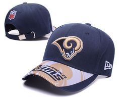 St. Louis Rams NFL Baseball Caps Navy Curved Brim Hats 1200f20eb7c