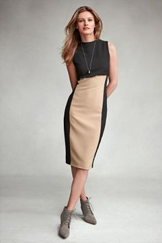Buy Colourblock Dress online today at Next Direct: Malta