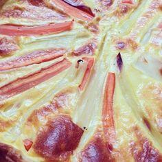 mememoniq: Quiche de printemps aux légumes #tartesalée #pâtisserie #tarte légumes #asperges #carotte #poireau  #cuisine #food #homemade #faitmaison #yummy #cooking #eating #french #foodpic #foodgasm #instafood #instagood http://ift.tt/1t5ClK7