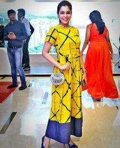 Kurta Designs, Blouse Designs, Indian Dresses, Indian Outfits, Kurta Patterns, Kurta Style, Casual Dresses, Summer Dresses, Tie Dye Dress