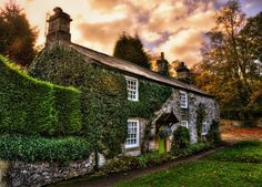 A lovely cottage in Ashford-in-the-Water, Peak District, Derbyshire, England Places In England, Victorian Cottage, Walled City, Old Farm Houses, Peak District, Derbyshire, Cool Photos, Beautiful Places, Around The Worlds