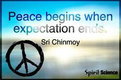 Peace Begins...