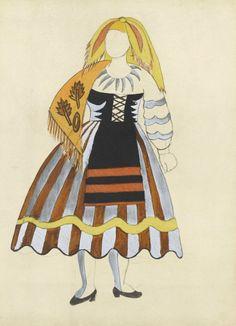 """Pablo Picasso, """"Costume pour Le Tricorne"""" © RMN-Grand Palais (musée Picasso de…"""