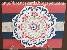 KreatesKards: Daydream Medallions Using the New In Colors