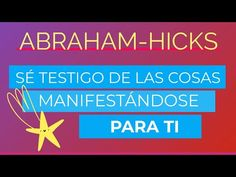 Sé testigo de las cosas manifestándose para ti ~ Abraham-Hicks en español - YouTube Abraham Hicks Español, Electromagnetic Field, Calm, Youtube, Hipster Stuff, Youtubers, Youtube Movies