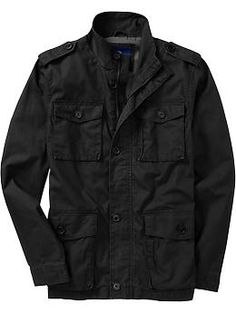 Men's Military Jackets | Old Navy. Black or green. Been wanting one of these.
