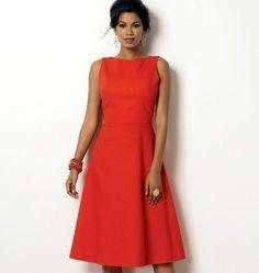 Butterick - B6016 patroon jurk   Naaipatronen.nl   zelfmaakmode patroon online
