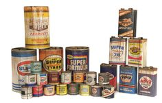 superdry oil cans.