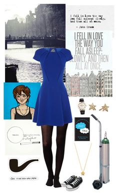 Hazel grace by lj-case on Polyvore featuring polyvore, fashion, style, Coast, Pure + Good, Converse, Social Anarchy, ASOS, Gorjana, N'Est Pas and clothing