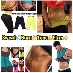 Ready to ship @naturallyfitempire  @naturallyfitempire  @naturallyfitempire  Don't miss this hot deal! 3 Piece Sweat Set on sale for $75 Ready to ship! Size S-XXXL  Don't just waist train. Tighten tone & firm up your skin. Get rid of stretch marks sagging cellulite and dark spots. Order today. Fast shipping. Let it burn Comfortably... Guaranteed results. Order your Sweat Set today. Lose immediate inches all over Energy Booster End Bloating Proven to shed bad weight Clearer Skin Metabolism…