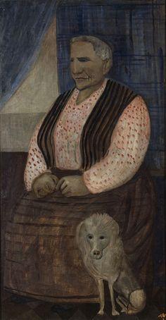 """Portrait de Gertrude Stein"" ©, 2015, Tal Coat"