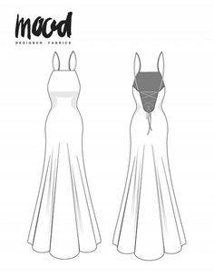 The Todea Dress - Free Sewing Pattern - Mood Sewciety Das Todea Kleid - Gratis Schnittmuster - Mood Beginner Sewing Patterns, Sewing Patterns For Kids, Dress Sewing Patterns, Clothing Patterns, Free Sewing, Beginners Sewing, Skirt Sewing, Skirt Patterns, Coat Patterns