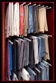 Recently I saw a video online of a man who decided he probably had too many pairs of pants, but had no idea exactly how many he had--and so .