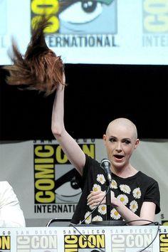 James Gunn on Karen Gillan's Bald Head in GUARDIANS OF THE GALAXY — GeekTyrant