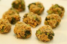 Broccoli And Cheddar Cheese Nuggets