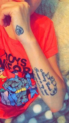 My tattoo I got designed dedicated to my Nan blue bells of love x