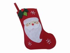 Felt christmas stocking with santa claus Manufacturers & Suppliers ...