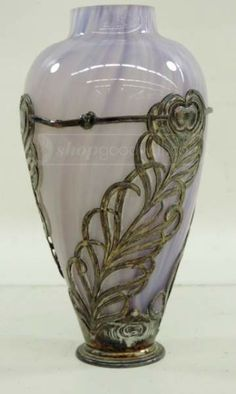 shopgoodwill.com: Antique Art Nouveau German Orivit Vase c.1900