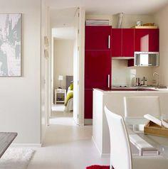 45m² - moderno - Barcelona  | MICASA Revista de decoración - cozinha
