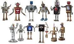 Artist Tal Avitzur makes robots. Specifically robots made of junk that no one else wants. And while his robots may not be able to clean your house, wash you car, or play minion to your evil genius, they can, however, light up.