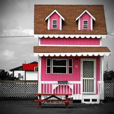 Pink Summer Cottage