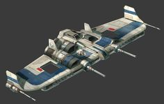Republic Bomber Design for Star Wars The Old Republic Galactic Starfighter