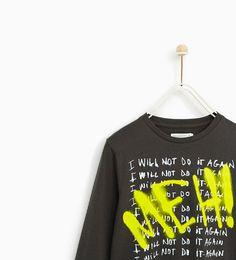 Image 2 of GRAFFITI T-SHIRT from Zara