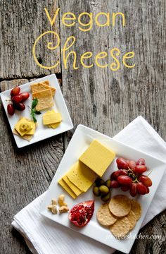 Vegan cheese - Easy to make and can be sliced!
