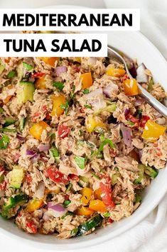 Healthy Tuna Recipes, Canned Tuna Recipes, Healthy Eating, Beef Recipes, Healthy Mayo, Tuna Fish Recipes, Salad Recipes Low Carb, Soup Recipes, Dairy Free Tuna Recipes