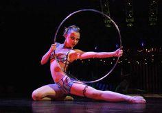 Olga Pikhienko : Elena Lev / Flickr Hula Hoop, Aerial Hoop, Aerial Arts, Dark Circus, Circus Art, Military Couples, Military Love, Josephine Wall, Circus Aesthetic